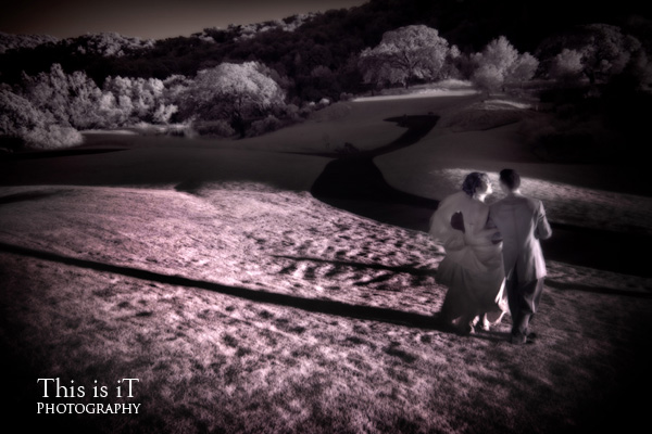 bride and groom photo at  cinnabar hills golf club wedding venue