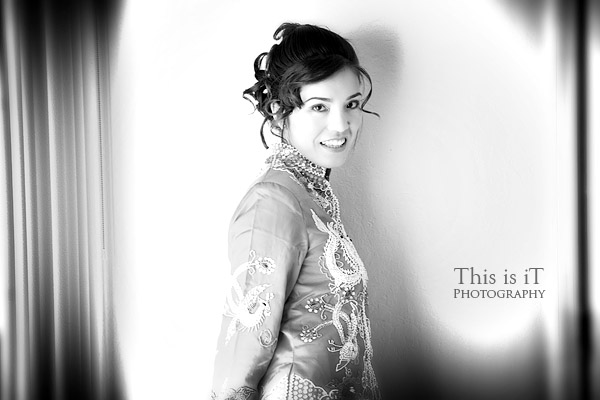 chinese wedding photographer photo of the bride