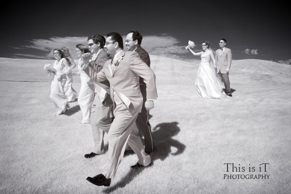bridal wedding photo at cinnabar hills golf club
