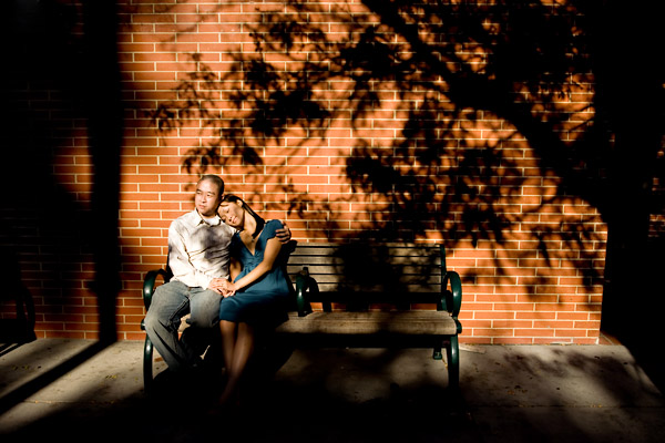 engagement session in downtown san jose