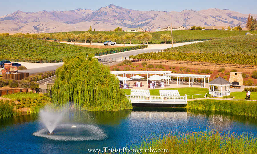 Leal Vineyards Wedding  venue Photographer