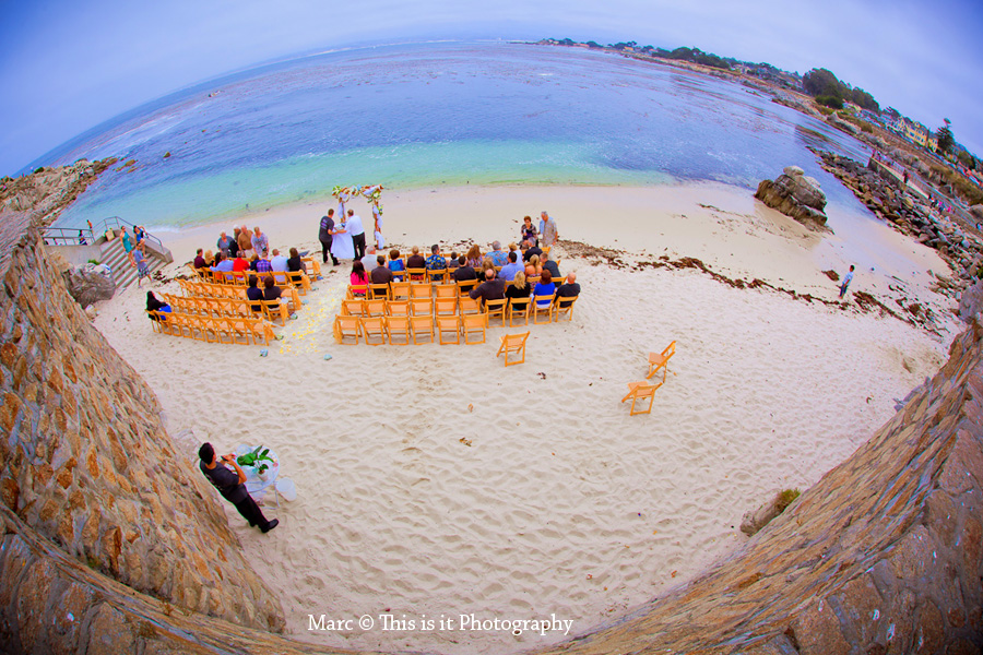 This is it Photography monterey beach wedding photographer