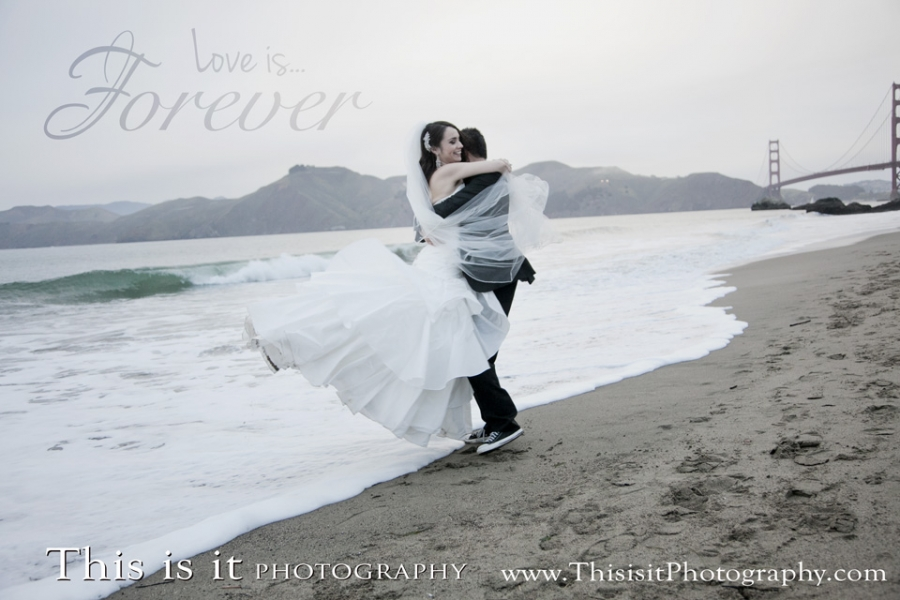 Love is forever wedding photographer